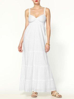 MICHAEL Michael Kors Twist Front Maxi Dress