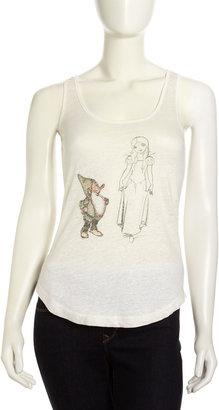 Patterson J. Kincaid Disney by Sketch-Print Fairy Tale Tank