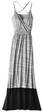 Mossimo Petites Sleeveless Crisscross Chiffon Maxi Dress - Assorted Colors