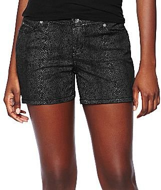 JCPenney a.n.a® Snake Print Shorts