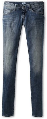 Armani Junior Teen Denim (Big Kids) (Denim) - Apparel