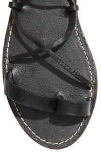 Madewell The Leather Lace Sandal