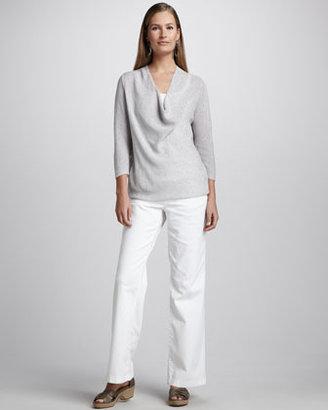 Eileen Fisher Sequined Knit Sweater, Women's