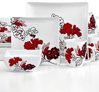 222 Fifth Velvet Bouquet 16-Piece Set