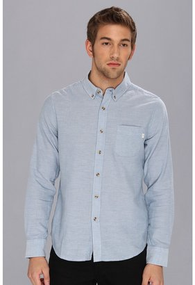 Obey End On End L/S Shirt (Blue) - Apparel