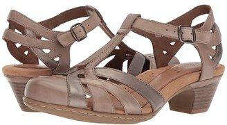 Cobb Hill Aubrey (New Khaki Multi) Women's 1-2 inch heel Shoes