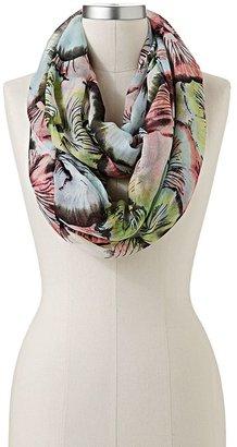 Apt. 9 in bloom watercolor infinity scarf