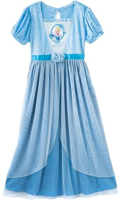 Disney princess cinderella dress-up nightgown - girls