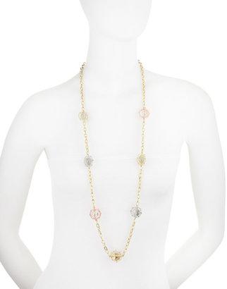 RJ Graziano Long Mixed-Metal Necklace