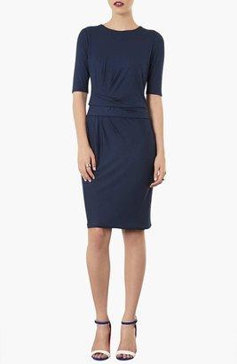 Topshop Pleat Front Tunic Dress