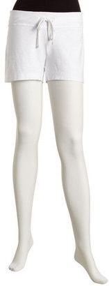 James Perse Slub Shorts, White