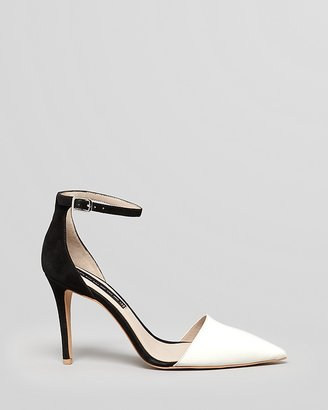 Steve Madden STEVEN BY Pointed Toe Pumps - Anibell 2 Tone High Heel