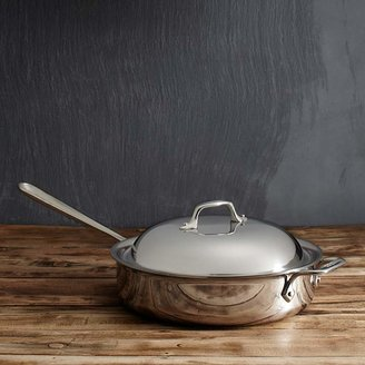 All-Clad Stainless Steel 3 Quart Sauté Pan with Domed Lid