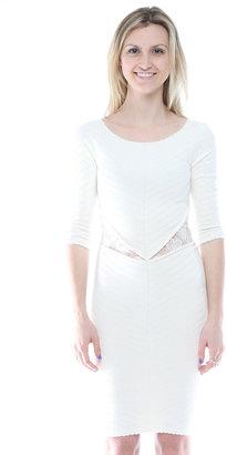 Torn By Ronny Kobo Knee-Length Knit Dress