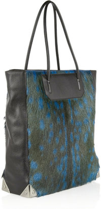 Alexander Wang Prisma deer and leather tote