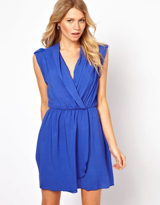 Love Dress with Wrap Front - Cream