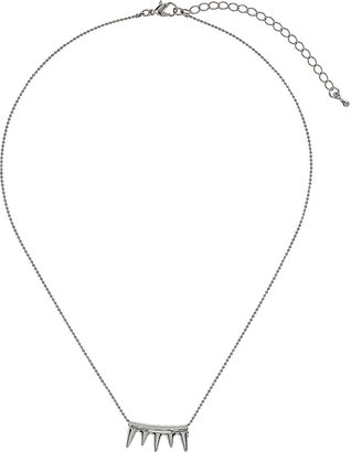 Topshop Small Spike Necklace