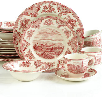 Johnson Bros. Johnson Bros.Old Britain Castles 20-Pc. Dinnerware Set, Service for 4