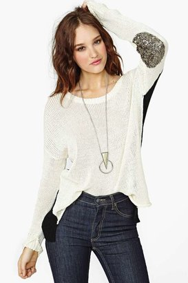Nasty Gal Rough Patch Knit