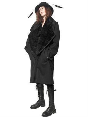 Ann Demeulemeester Viscose/Cotton Coat