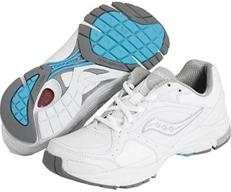 Saucony ProGridtm Integrity ST 2 (White/Silver) Women's Walking Shoes