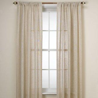 B. Smith Barbados Natural Window Curtain Panel
