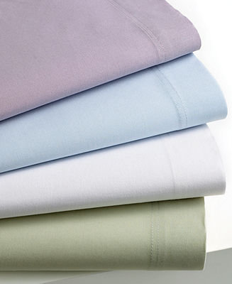Style&Co. CLOSEOUT! Bedding, Pair of Solid Standard Pillowcases