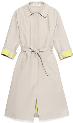 Nina Ricci Preorder Rubberised Cotton Trench