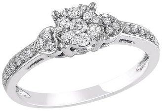 Diamond Fashion Ring White