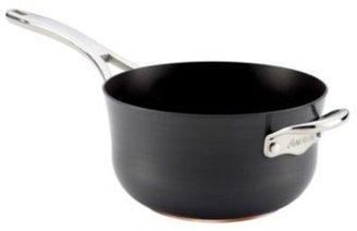 Anolon Nouvelle Hard Anodized 4-Quart Chef's Pan with Helper Handle