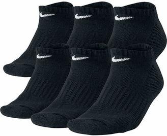 Nike Men Cotton No-Show Socks 6-Pack
