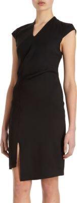 Helmut Lang Cap Sleeve Dress