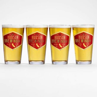 Red Envelope State Pub Glass