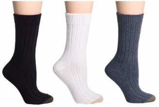 Gold Toe Women's 3-Pack Weekend Sock