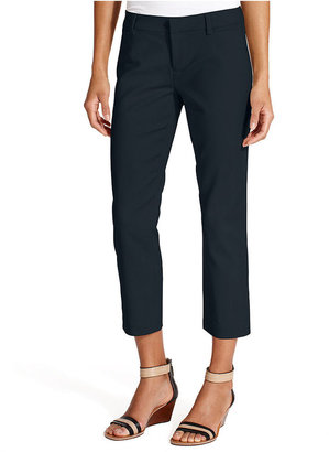 Tommy Hilfiger Straight-Leg Cropped Pants