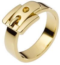 Michael Kors Buckle Ring, Golden