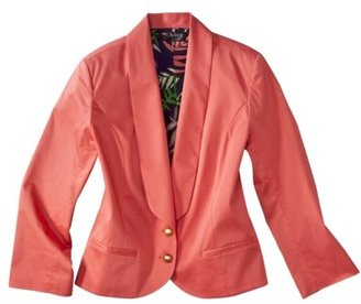 Webster The at Target® Stretch Sateen Jacket - Melon