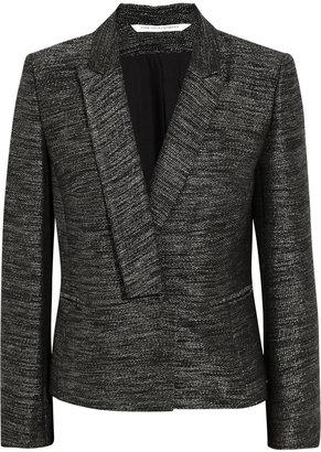 Diane von Furstenberg Arnette tweed blazer