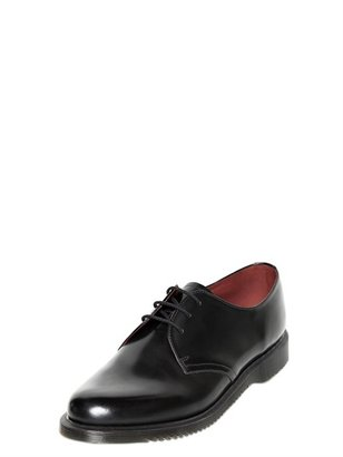 Dr. Martens Brushed Smooth Leather Derby Shoes