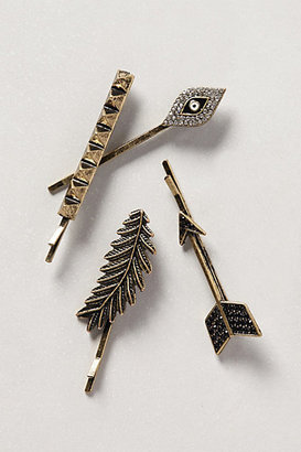 Anthropologie Arrow & Eye Bobbies