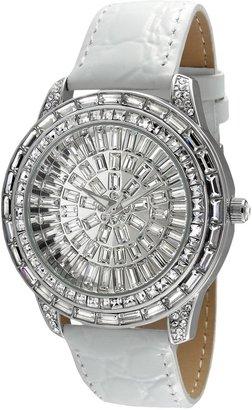 Peugeot Women's Crystal Leather Watch - J6013