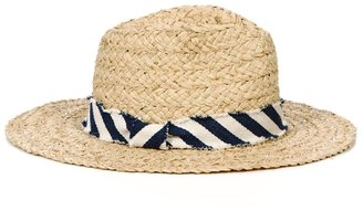 Hat Attack Braided Continental Fedora