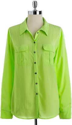 Vince Camuto TWO BY Button-Down Blouse