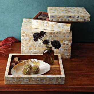 west elm Mother-Of-Pearl Boxes