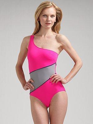 VPL Box Kite One-Piece Swimsuit