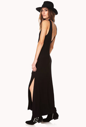 Forever 21 Sleek Cutout Maxi Dress