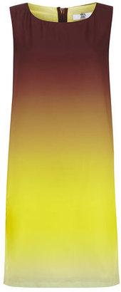 Dorothy Perkins True decadence Yellow luxe shift dress