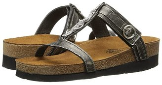 Naot Footwear Malibu (Quartz Leather) Women's Slide Shoes