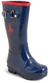 Ralph Lauren Polo Girls' Ralph Rain Boots - Walker, Toddler