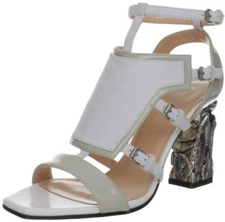 Calvin Klein Collection Women's Lorena Patent Ankle Strap Sandal
